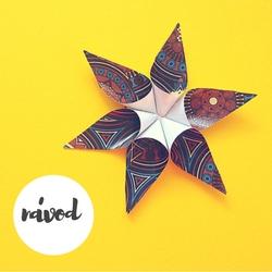 návod hvězda z papíru